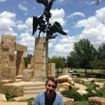 Jonathan got to see Jacob's Ladder in Abilene ...